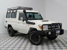 2011 Toyota Landcruiser VDJ78R 09 Upgrade GXL (4x4) White 5 Speed Manual TroopCarrier Atwell Cockburn Area Preview