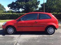 2003 Red Ford Fiesta 1.2, 3 Door, Manual, Petrol, Long MOT, Full Service, 120k Miles, 2 Owners