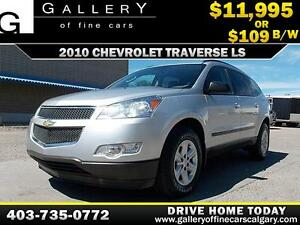 2010 Chevrolet Traverse LS $109 BIWEEKLY APPLY NOW DRIVE NOW