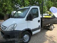 2007 Iveco Daily 2.3TD 35S12 NO VAT PICK UP TIPPER 90000 MILES