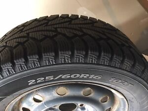 winter I Pike Hankook tires on rims