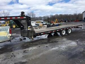 PJ TRAILER MANUFACTURING – 22' BED GOOSENECK FLATBED