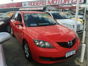 2008 Mazda 3 BK MY06 Upgrade Maxx Red 5 Speed Manual Hatchback Victoria Park Victoria Park Area Preview