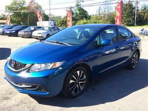 2013 Honda Civic Sdn EX NEW MVI, SUNROOF, ALLOYS, GOOD ON GAS