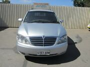 2010 Ssangyong Stavic A100 08 Upgrade 2.7 XDI Silver 5 Speed Automatic Wagon Hillcrest Port Adelaide Area Preview