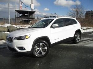 2019 Jeep Cherokee LIMITED V6 (4X4, PANO ROOF, HEATED/COOLED LEA