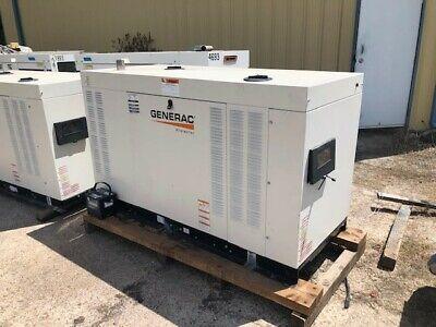 Qty 4 Generac Rg060 - 60kw - Ng - 240v - 3 Phase - Standby Generator Sets