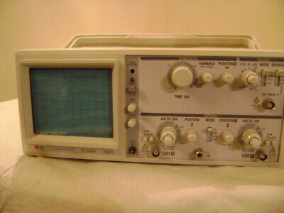 Lg Oscilloscope Os 9020a Dual Trace 20 Mhz