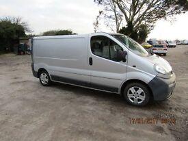 Vauxhall vivaro 2900-cdti- 100-lwb-2006-06 reg ALL VANS AND CARS REDUCED !!