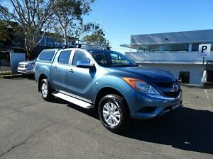 2013 Mazda BT-50 UP0YF1 XTR 4x2 Hi-Rider Blue 6 Speed Sports Automatic Utility Nowra Nowra-Bomaderry Preview