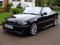 2004 BMW 3 SERIES 3.0 330CI M SPORT CONVERTIBLE CABRIOLET AUTO 228 BHP