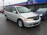 2003 Honda Odyssey EX portes laterales electriques air climatise