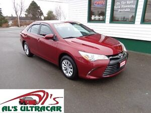 2015 Toyota Camry LE for only $127 bi-weekly all in!