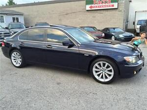 2008 BMW 750 LI LEATHER SUNROOF NAV CERTIFIED & E-TEST London Ontario image 2