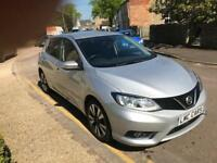 2015 (15) Nissan Pulsar 1.5dCi N-TEC ( s/s ) ONLY 17,000 MILES IMMACULATE
