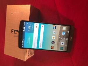 LG G3 (32GB) FACTORY UNLOCKED WORKS WITH ALL CARRIERS MINT