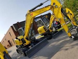 3.8 Ton Excavator - Wacker Neuson EZ38 - Zero Tail Swing