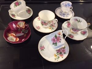 victorian style tea cups / tasses the the style victorien