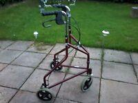 3 wheel mobility tri walker
