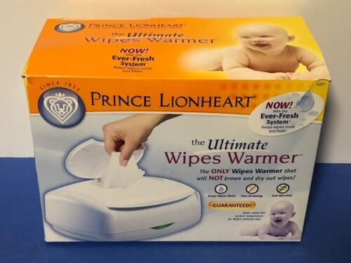 Prince Lionheart Ultimate Anti-microbial Wipes Warmer in Open Box New