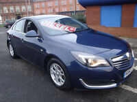 63 VAUXHALL INSIGNIA CDTI DESIGN 5 DOOR DIESEL TAX EXEMPT *SATNAV*