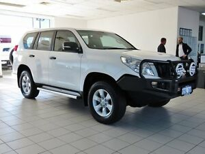 2012 Toyota Landcruiser Prado KDJ150R 11 Upgrade GX (4x4) White 6 Speed Manual Wagon Morley Bayswater Area Preview