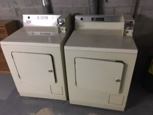 COIN-OP WASHER & DRYER (2 SETS)