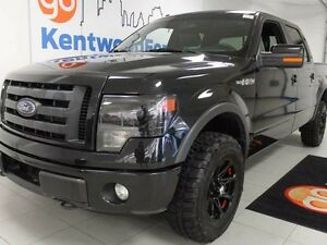 2013 Ford F-150 FX4 5.0L V8 Black on black with reverse cam and