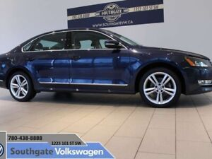 2014 Volkswagen Passat CERTIFIED PRE-OWNED | HIGHLINE | LEATHER