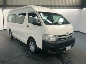 2011 Toyota HiAce TRH223R MY11 Upgrade Commuter White 4 Speed Automatic Bus Sunshine North Brimbank Area Preview