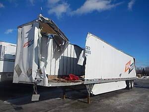 FOR PARTS / Utility DX4000 van trailer