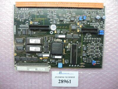 Analog Card E-8 Keba E-8-analogc 1865b-1 Art. No. 22036330 Engel Used Spares