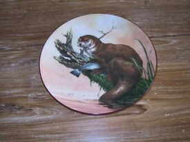 "Wedgwood porcelain ""The water's edge"" plate."