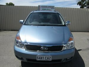 2014 Kia Grand Carnival VQ MY14 SI Crystal Blue 6 Speed Automatic Wagon Windsor Gardens Port Adelaide Area Preview