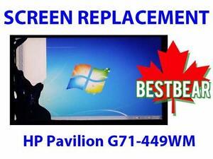 Screen Replacment for HP Pavilion G71-449WM Series Laptop