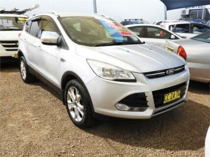 2015 Ford Kuga TF MY16 Trend PwrShift AWD Silver 6 Speed Sports Automatic Dual Clutch Wagon Mount Druitt Blacktown Area Preview