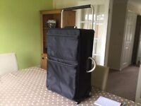 Large lightweight suitcase 2 wheels and retractable pull along handle