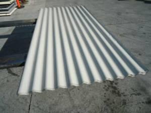 ROOFING IRON CORRO @ 2.4 MTR - BONE WHITE Jimboomba Logan Area Preview
