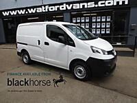 2013 Nissan NV200 1.5DCi SE 89ps E/Pack Twin SLD Diesel white Manual