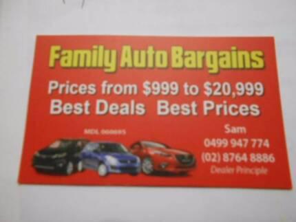 Super Cheap Auto Bargains