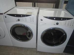1001389 DUO  LAVEUSE / SECHEUSE GENERAL ELECTRIC *** SET GENERAL ELECTRIC WASHER AND DRYER