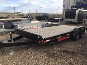 20FT EQUIPMENT TRAILER DOUBLE A