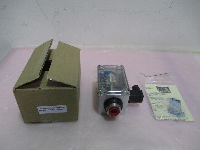 AMAT 1040-01109, Lake Monitors R3S7WB15-LPM, Inline Flow Monitor. 416497