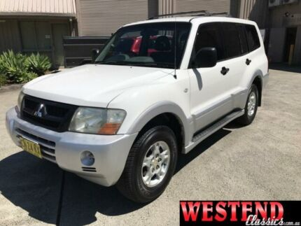 2003 Mitsubishi Pajero NP GLS White Sports Automatic Wagon Lisarow Gosford Area Preview