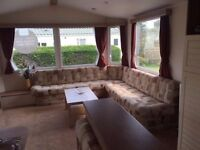***CHEAP PRE OWNED STATIC CARAVAN FOR SALE, RIBBLE VALLEY, LANCASHIRE DALES***