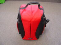 New Red & Black Professional Camera Carrying Case
