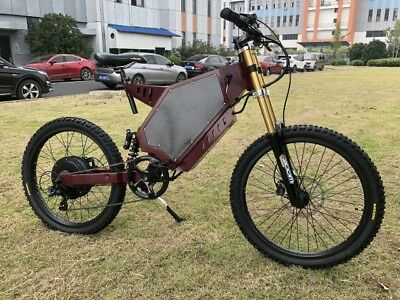 Yunshine Leopard 8000w/72v Electric Bicycle Scooter Ebike Mountain Bike Super