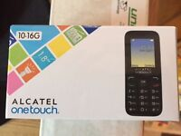 Alcatel OneTouch BRAND NEW mobile phone PAYG EE