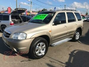 2001 Mazda Tribute Classic Gold 4 Speed Automatic 4x4 Wagon Lansvale Liverpool Area Preview