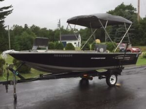 "2015 Princecraft Starfish 16'6"" Fishing boat Reduced to $8000"